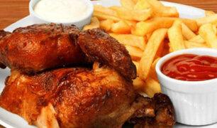 Peruanos celebraron el 'Día del Pollo a la Brasa'
