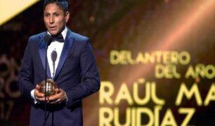 Raúl Ruidíaz: lo que dejó la premiación por sus 3 Balones de Oro