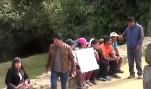 Cusco: profesores en huelga llegaron hasta Machu Picchu