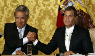 Ecuador: Correa deja millonarias deudas a Lenín Moreno