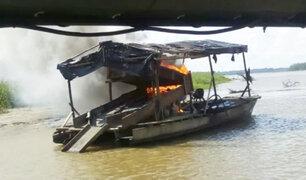 Iquitos: se realiza operativo sorpresa contra la minería ilegal