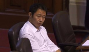 Fuerza Popular suspendió por 60 días a Kenji Fujimori