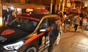 SMP: registran ataque a balazos de traficantes de terrenos en predio