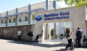 Vaticano: comienza juicio contra exresponsables de hospital infantil