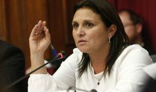 Minjus: Ministra Pérez Tello aclara detalles sobre salida de Katherine Ampuero