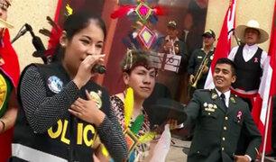 Orgullo Peruano: Banda de Música y Elenco de Danzas de la PNP deslumbra con su talento