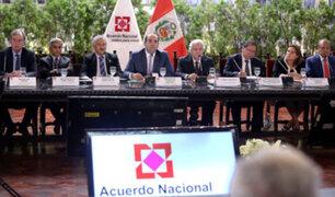 Gobierno presentará balance del primer año de gestión al Acuerdo Nacional