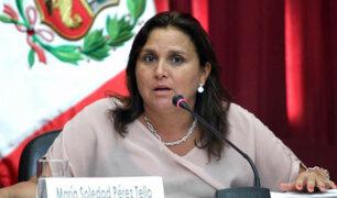 Ministra Pérez Tello: No hay marcha atrás sobre caso de procuradoras