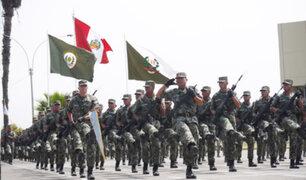 Los preparativos del Glorioso Ejército Peruano para la Gran Parada Militar