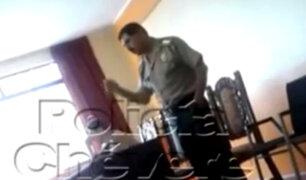 PNP se pronuncia por coronel que pidió sembrar drogas y armas a detenidos