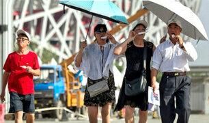 China: Shanghái registró la temperatura más alta en 145 años