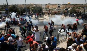 Tres muertos y 200 heridos tras enfrentamiento entre palestinos y policía israelí