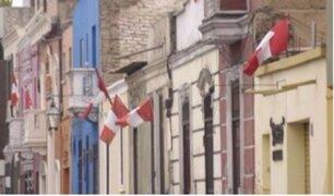 Banderas en mal estado: indignante situación en pleno mes patrio