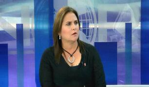 Marisol Pérez Tello habla sobre la salida de Julia Príncipe y Katherine Ampuero