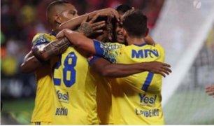 Flamengo con Guerrero y Trauco venció 2-1 a Curitiba por el Brasileirao