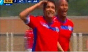 Reimond Manco anotó golazo en la victoria de Unión Comercio ante Ayacucho FC