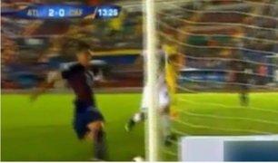 México: futbolista sufre terrible lesión tras chocar con poste
