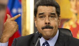 """Maduro: """"Venezuela es centro de un gran campaña de difamación mundial"""""""