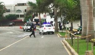 San Isidro: alarma por posible explosivo en local de la municipalidad