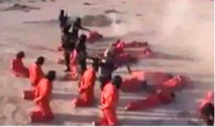 Ejército de Libia ejecutó a presuntos terroristas con el método de los yihadistas