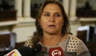 Congresistas opinan sobre eventual interpelación a Marisol Pérez Tello