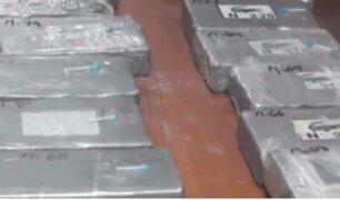 Pueblo Libre: policía capturado iba a enviar más de 246 kilos de droga a Europa