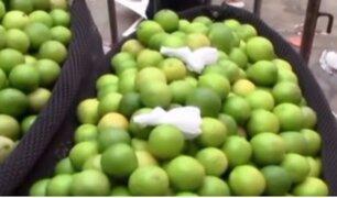 Mercado Mayorista: precio del limón varía entre S/ 4 y S/ 15 por kilo
