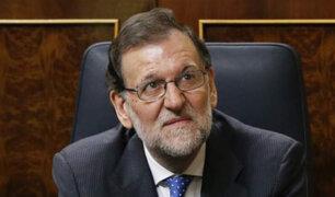 España: Presidente Rajoy responde en calidad de testigo ante tribunal