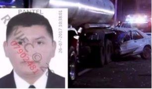 Investigan causas de accidente vehicular donde murió un expolicía