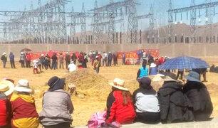 Puno: profesores intentan tomar central hidroeléctrica de San Gabán
