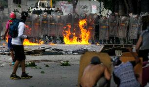 Venezuela: así se vivió el primer día de huelga contra Maduro
