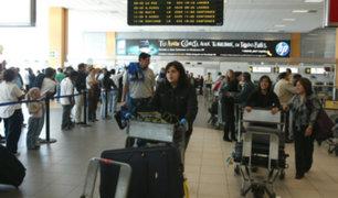 Refuerzan seguridad en aeropuerto Jorge Chávez por Fiestas Patrias