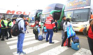 Precios de pasajes a provincias se elevan en terminales terrestres de Lima