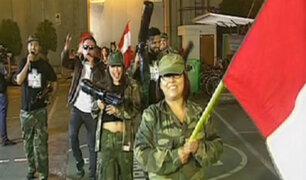 Fiestas Patrias: elenco de La Noche Es Mía parodia Gran Parada Militar
