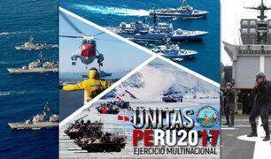 """Huacho: 19 países participaron en ejercicio militar """"Unitas 2017"""""""