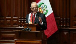 """Presidente Kuczynski: """"Combinación de caso Lava Jato y Niño Costero costó 2% delPBI"""""""