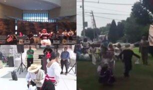 Fiestas Patrias: así celebraron los peruanos en el extranjero
