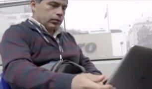 Metropolitano: conductor devuelve dos laptos olvidadas en el bus