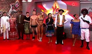 Elenco de La Noche Es Mía bailó al ritmo de música peruana
