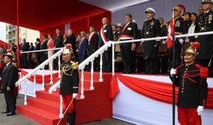 Fiestas Patrias: finalizó Gran Parada y Desfile Cívico Militar