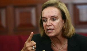 Diversas figuras políticas se solidarizan por estado de salud de Luisa María Cuculiza