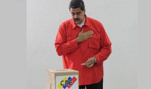 Venezuela: Maduro fue el primero en votar por la Asamblea Constituyente