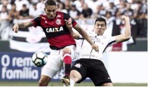 Con Guerrero y Trauco, Flamengo igualó 1-1 ante Corinthians