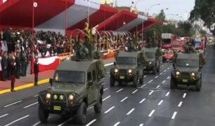 Las mejores imágenes de la Gran Parada y Desfile Cívico Militar
