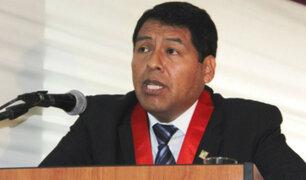 César Sahuanay: Habla el juez que recusó a Richard Concepción Carhuancho