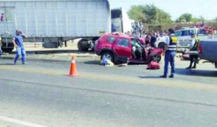 Pacasmayo: cuatro muertos tras choque entre camioneta y tráiler
