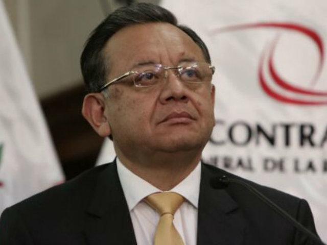 """Edgar Alarcón: """"No renunciaré a la Comisión de Fiscalización. Tengo apoyo de los congresistas"""""""