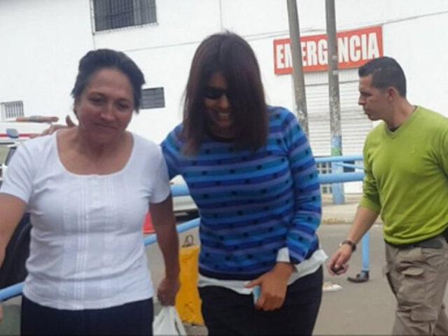 Madre de Nadine Heredia abandonó su casa tras incautación ordenada por Fiscalía