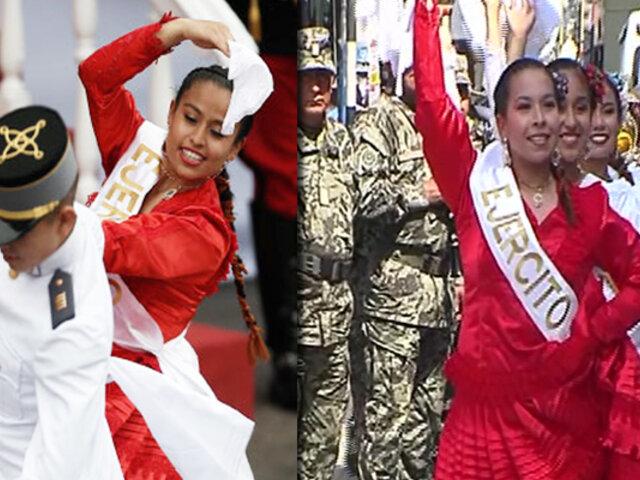 Orgullo Peruano: los miembros del Ejército que bailaron Marinera en Parada Militar