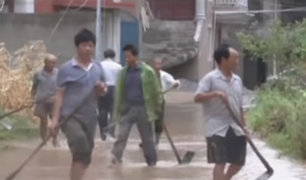 Tifones en isla de Taiwán deja más de 130 heridos y un desaparecido